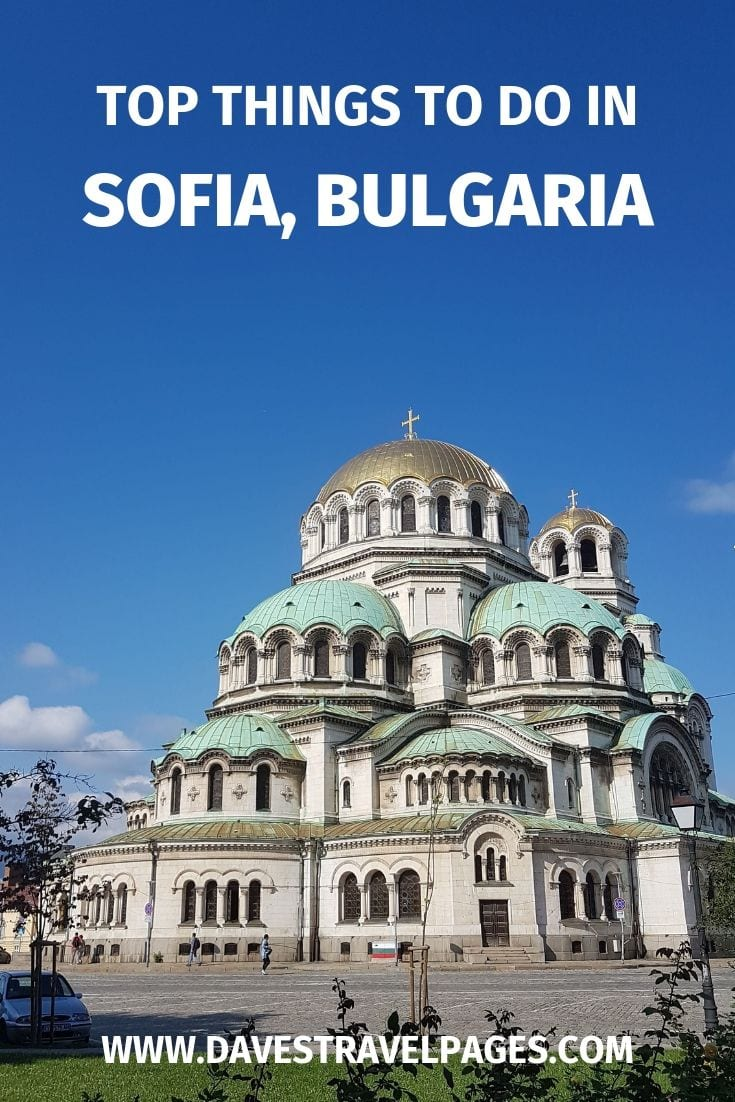 Best things to do in Sofia Bulgaria in one day
