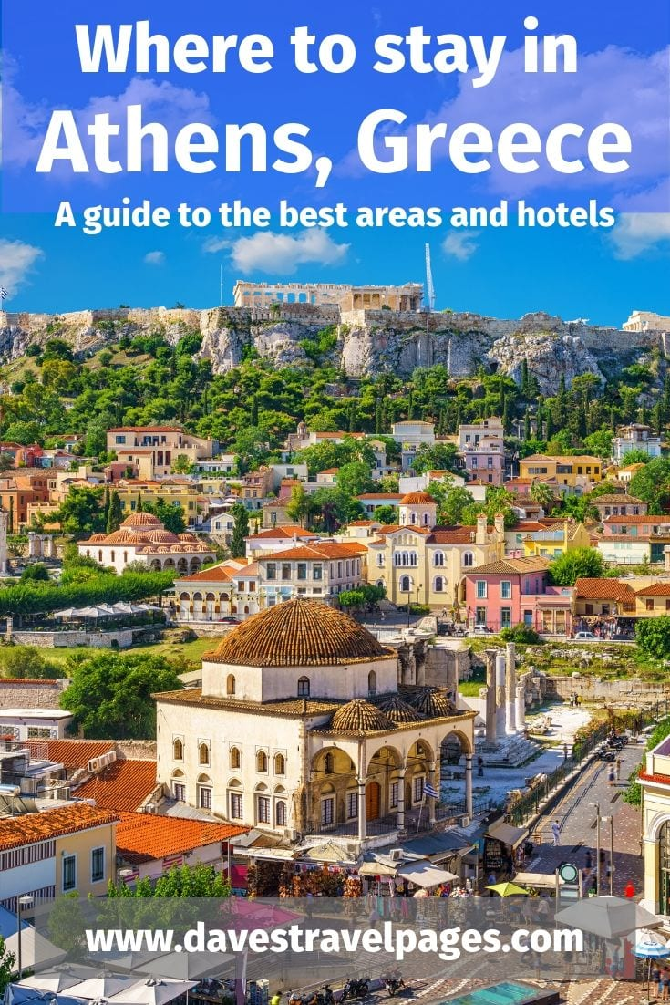 The best places to stay in Athens Greece - A guide to the best areas and hotels in Athens