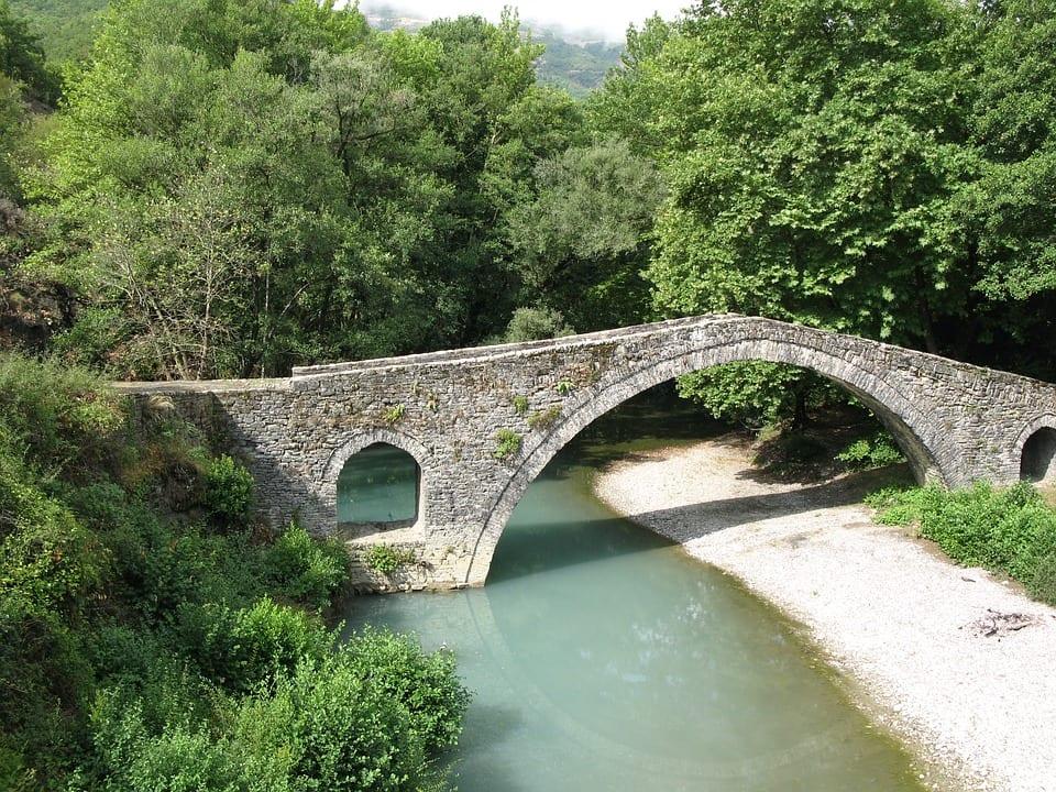 A bridge in the Zagori area of Greece