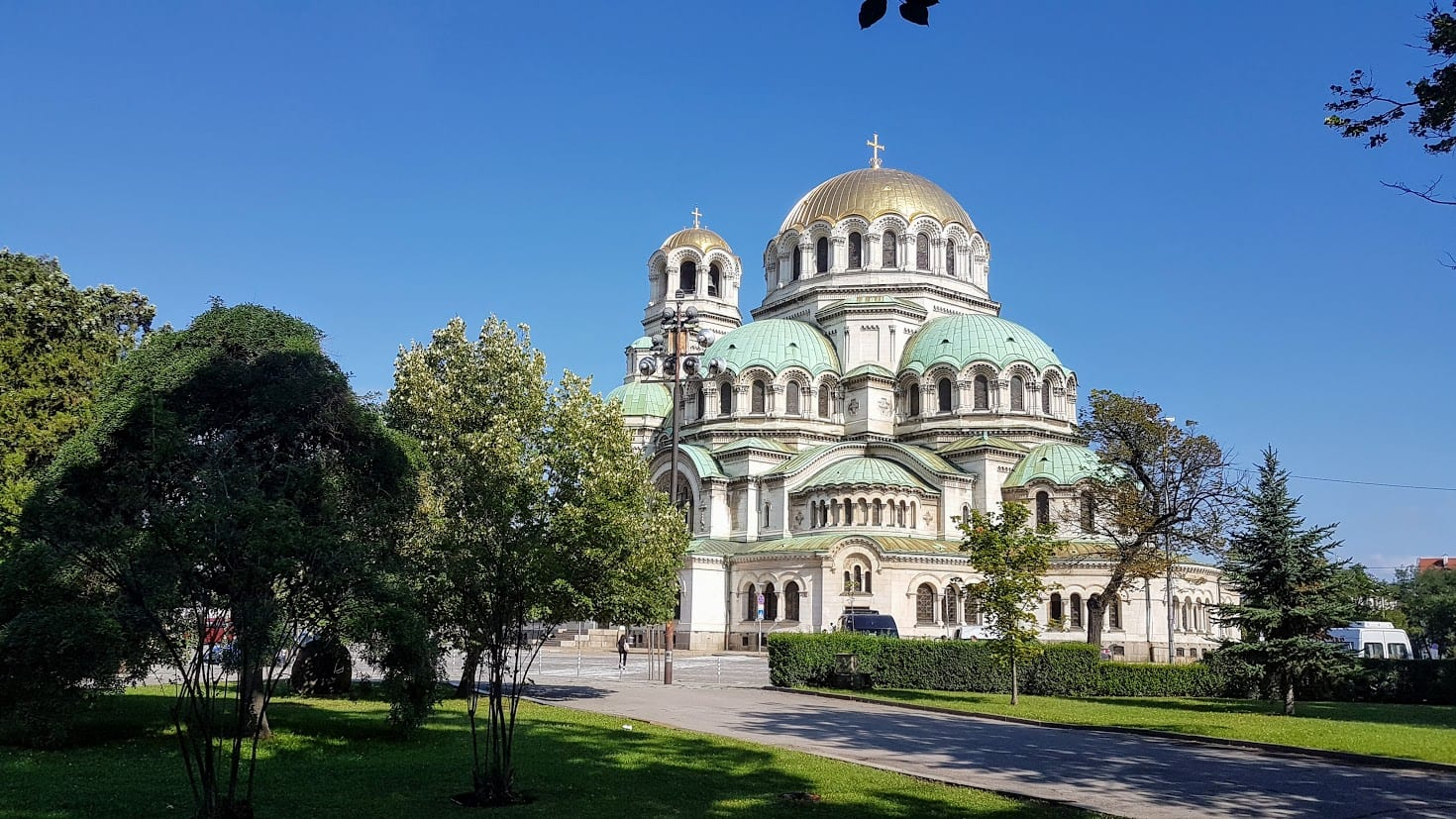 Aleksander Nevski Cathedral in Sofia Bulgaria