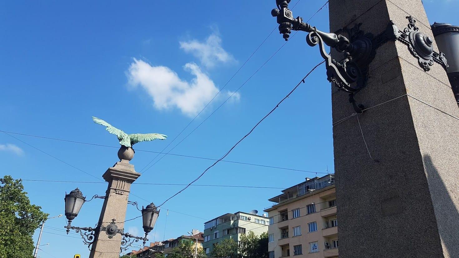 Eagle Bridge in Sofia