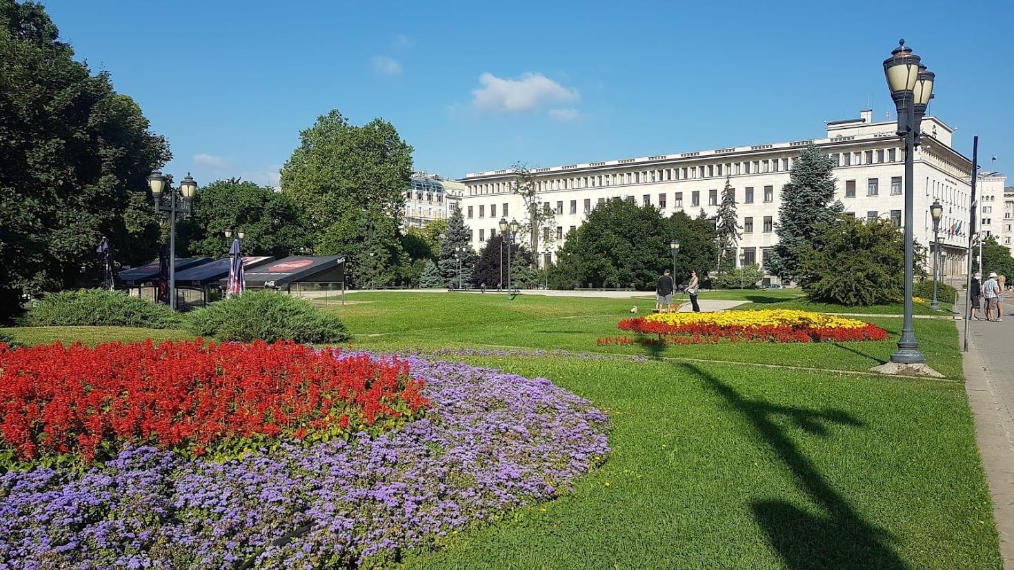 A park in sofia center