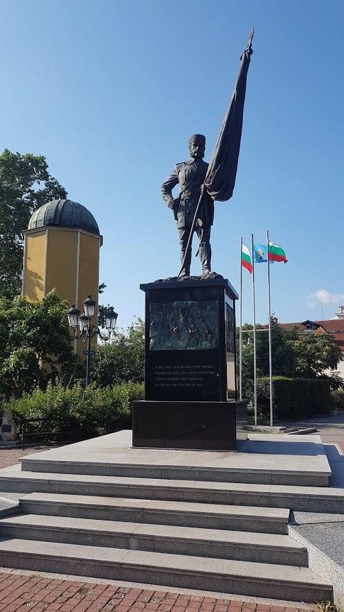 Volunteer monument in Sofia