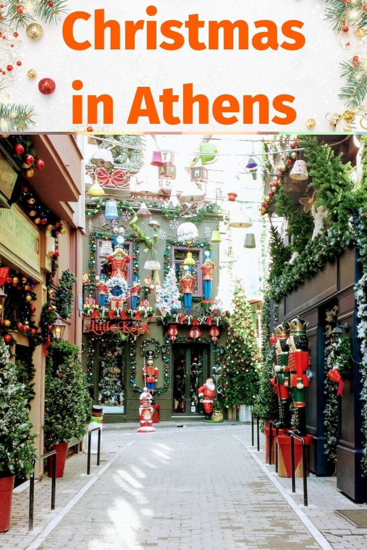 How to spend Christmas in Athens