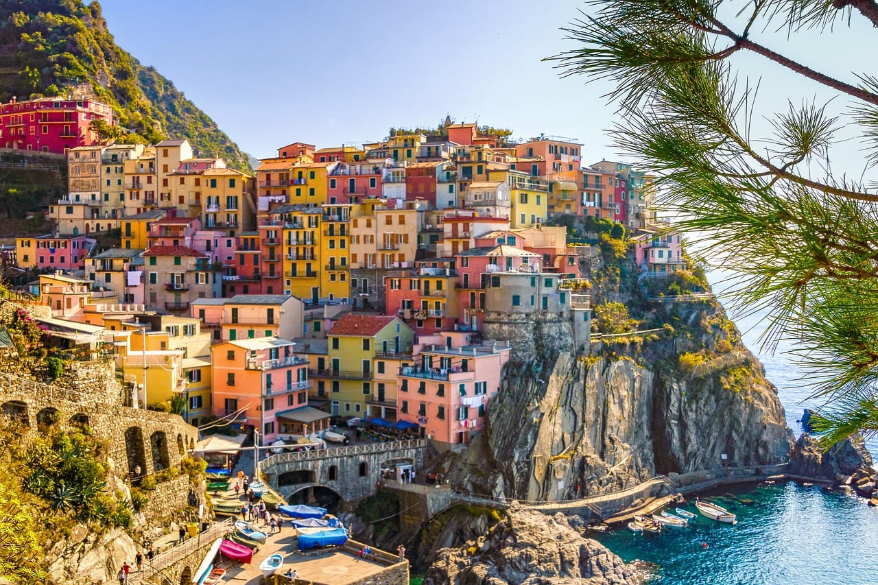 Cinque Terre village in Italy
