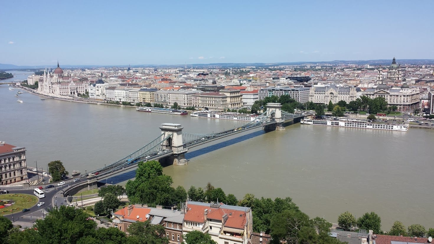 A view over Budapest