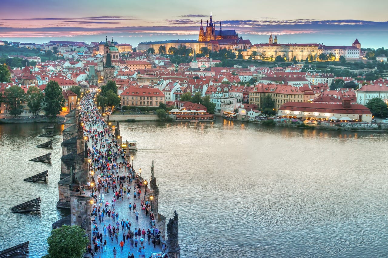 Visit Prague in November