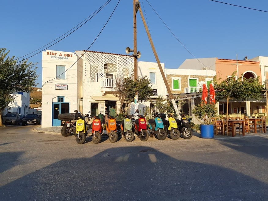 Andros rent a bike company in Greece