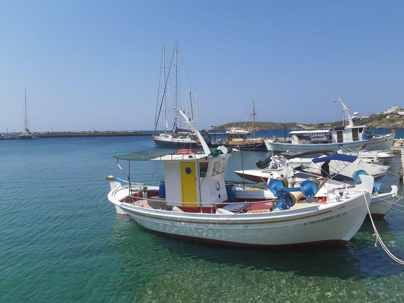 Boats in Batsi