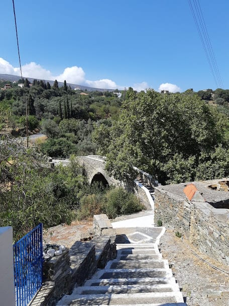 Hiking in Andors Greece