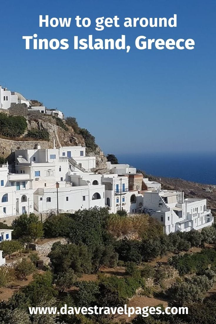 How to get around Tinos island in Greece
