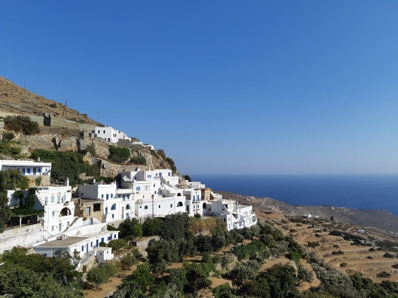 Kardiani village in Tinos Greece