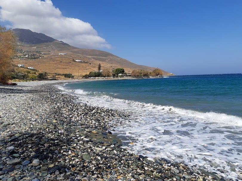 Lychnaftia beach in Tinos