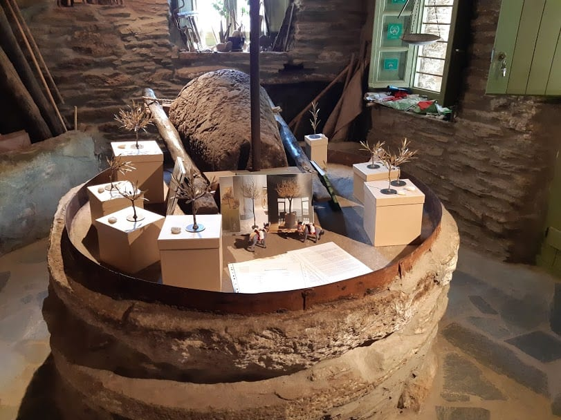 Inside the Olive Oil Museum of Andros