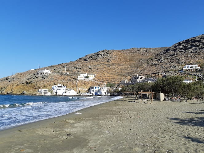 Rochari Beach in Tinos