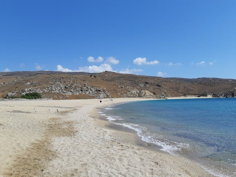 Vlychada beach in the Greek island of Andros