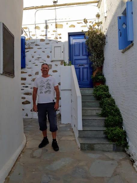 Volax village in Tinos island, Greece