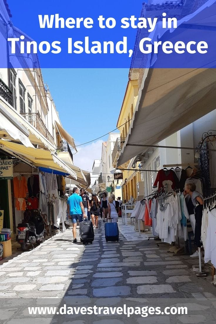 Best places to stay in Tinos Island, Greece