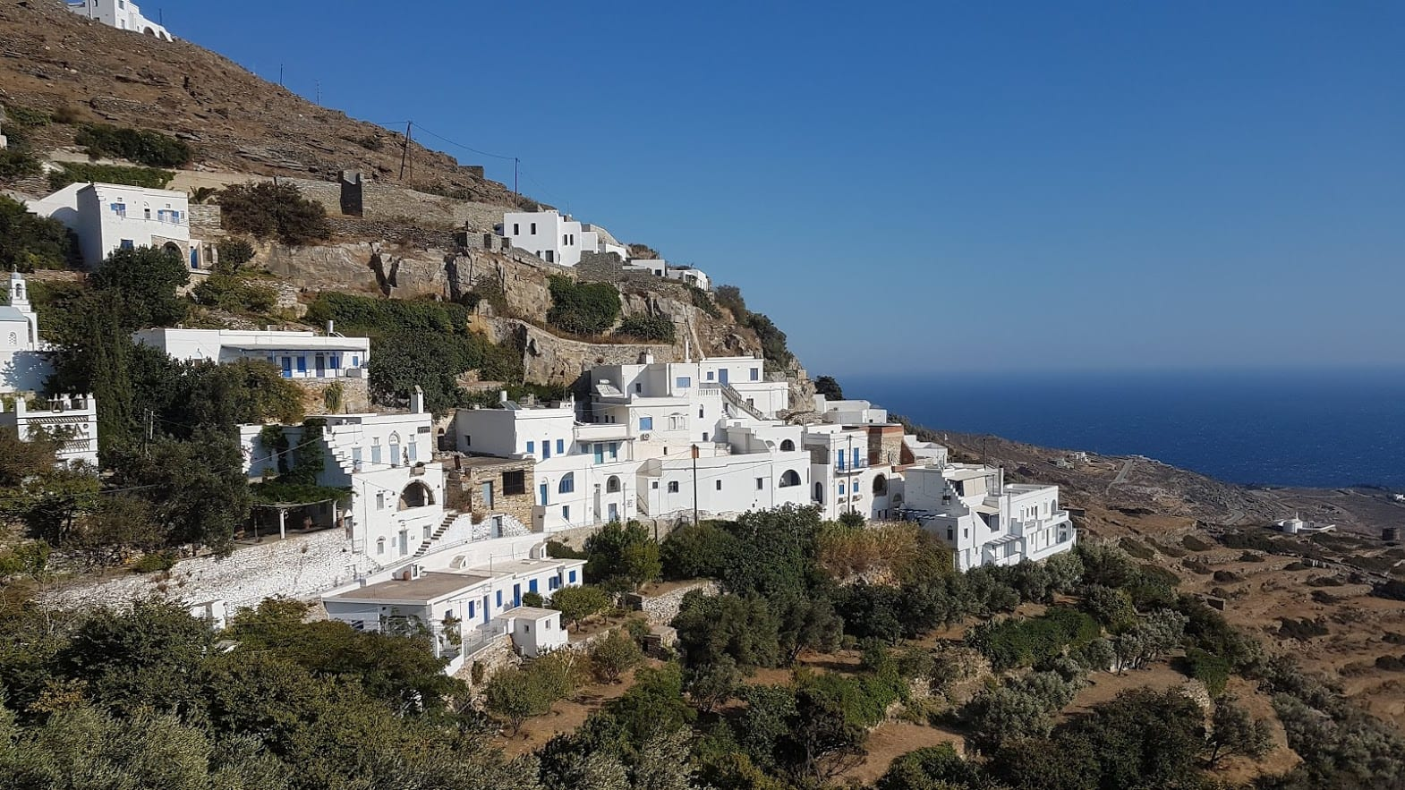 A village in Tinos island, Greece
