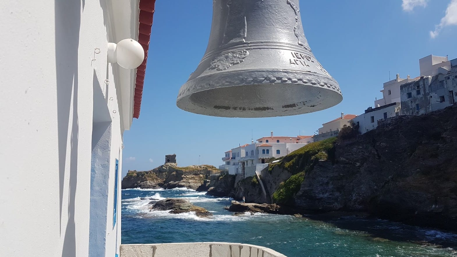 Visiting Andros Island in Greece