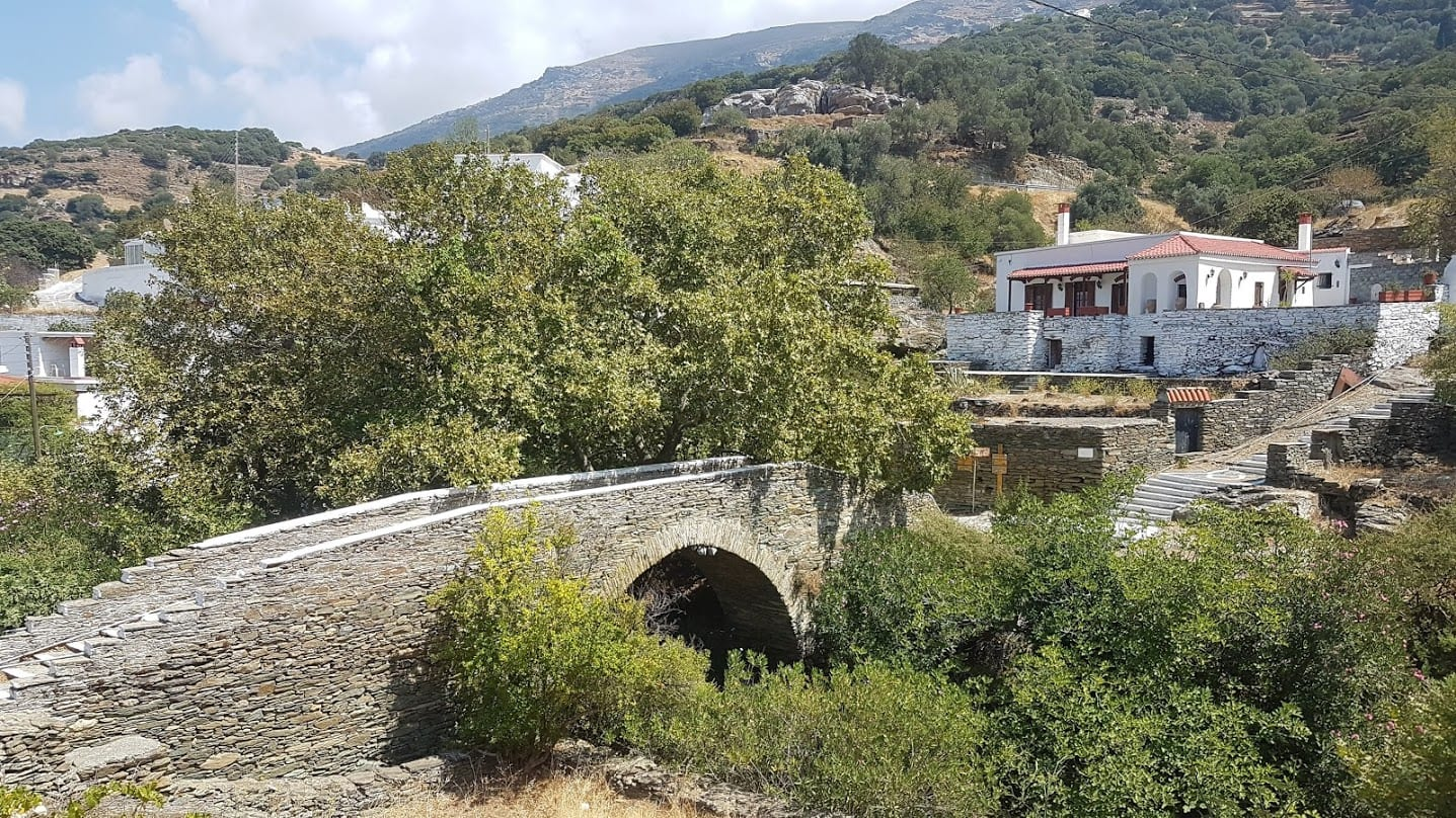 Bridge in Andros