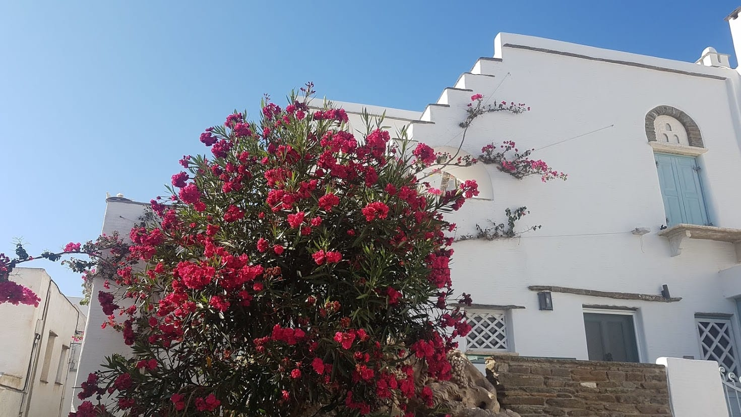 Pyrgos village in Tinos