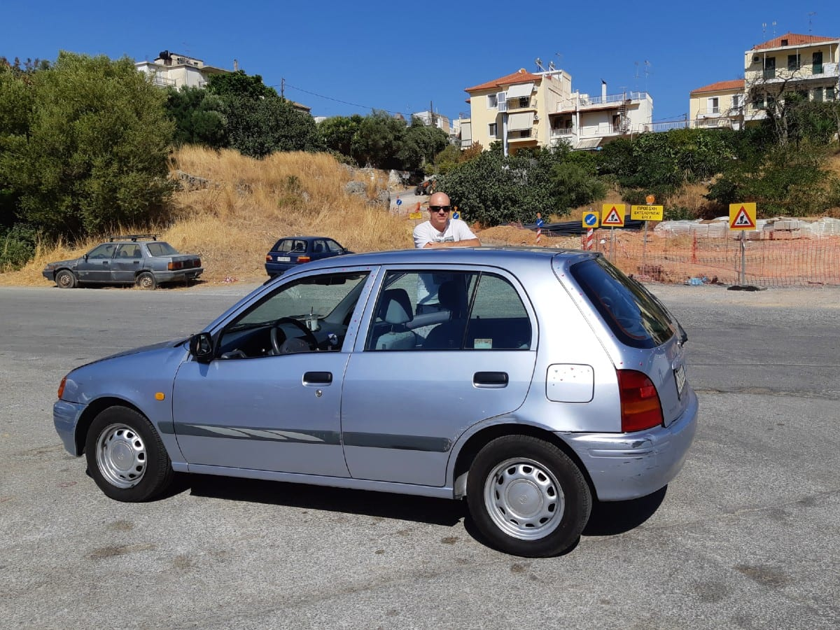 Driving in Mani, Greece
