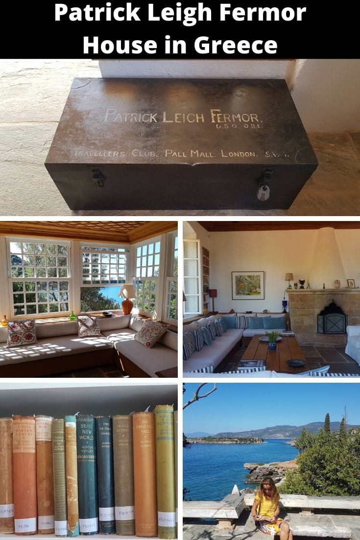 How to visit the Patrick Leigh Fermor House in Mani