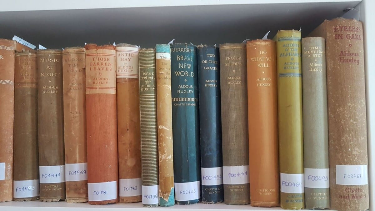 Some of Patrick Leigh Fermor's book collection