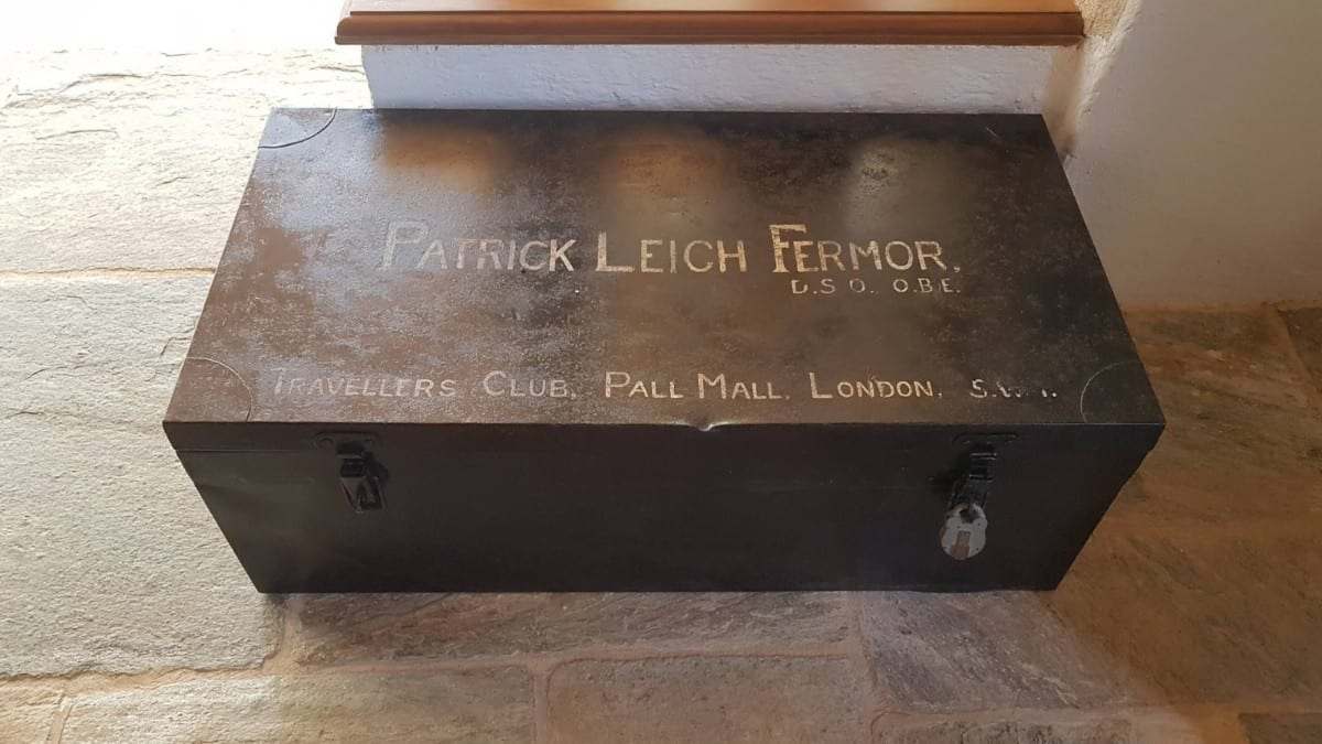 Patrick Leigh Fermor's travelling trunk