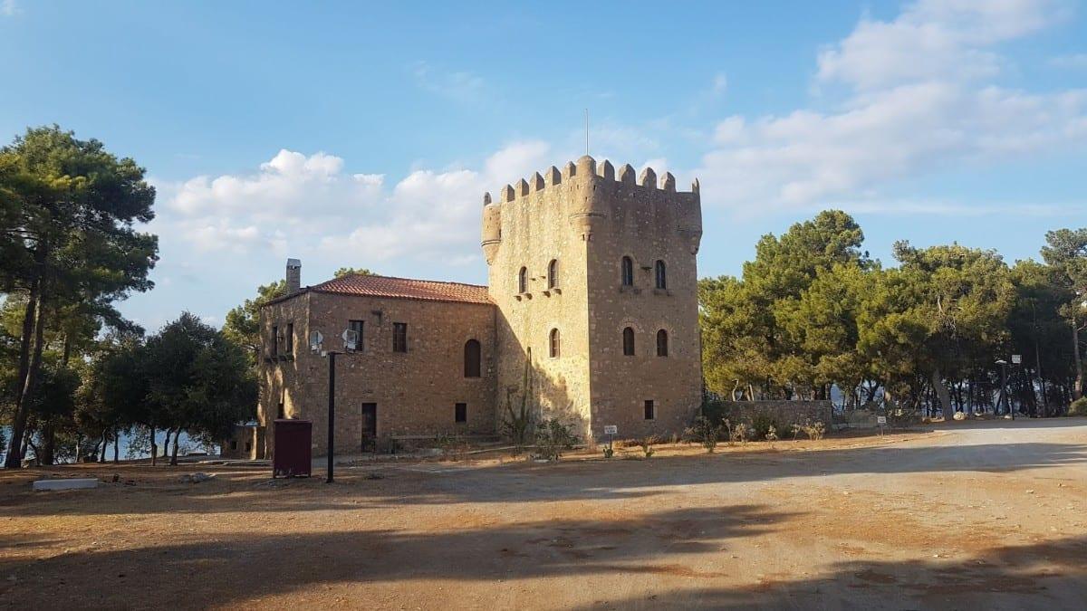 Tzanetakis Tower in Gythio