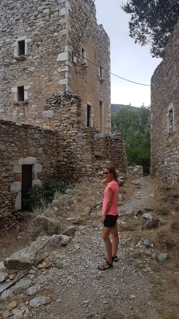 Vanessa in Vathia, Peloponnese