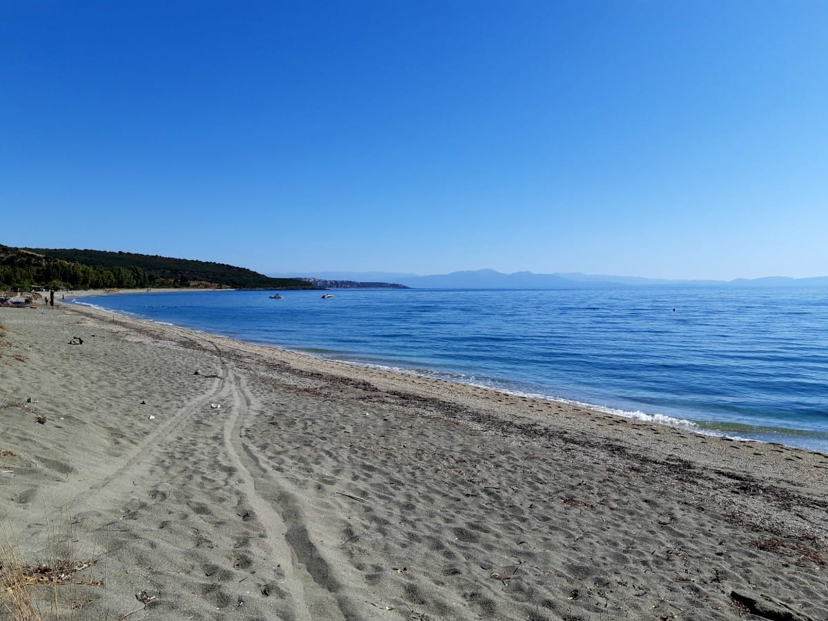 Vathy Beach near Gythion in the Peloponnese of Greece
