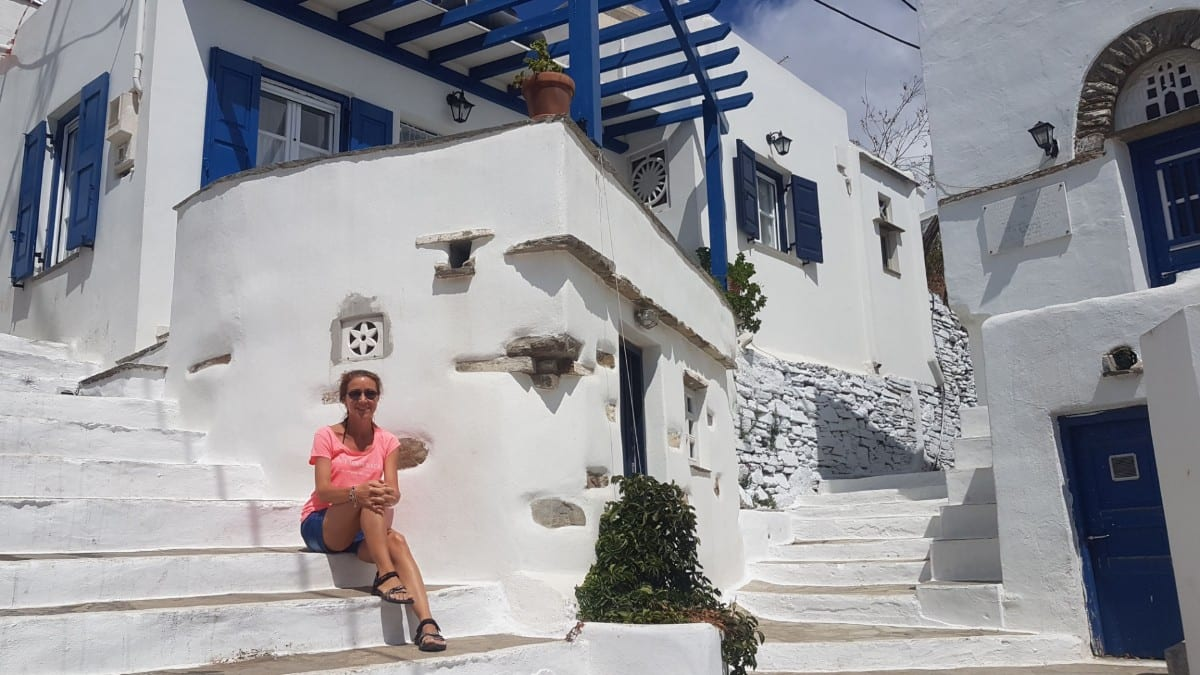 The villages of Andros and Tinos are very quiet in the off season