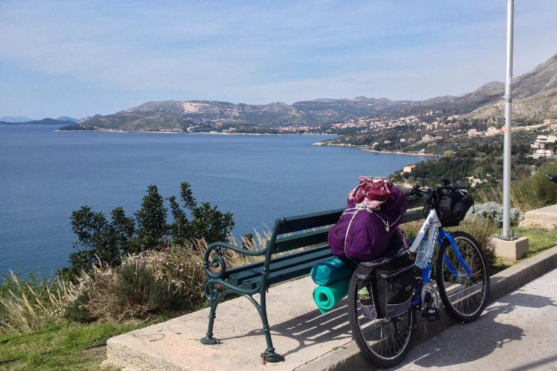 Bikepacking in Croatia