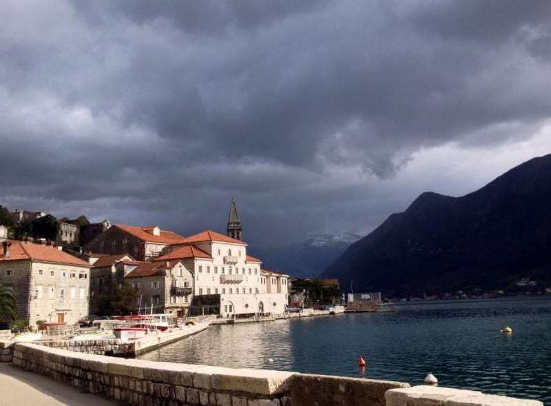 Bicycle touring in Montenegro day 4