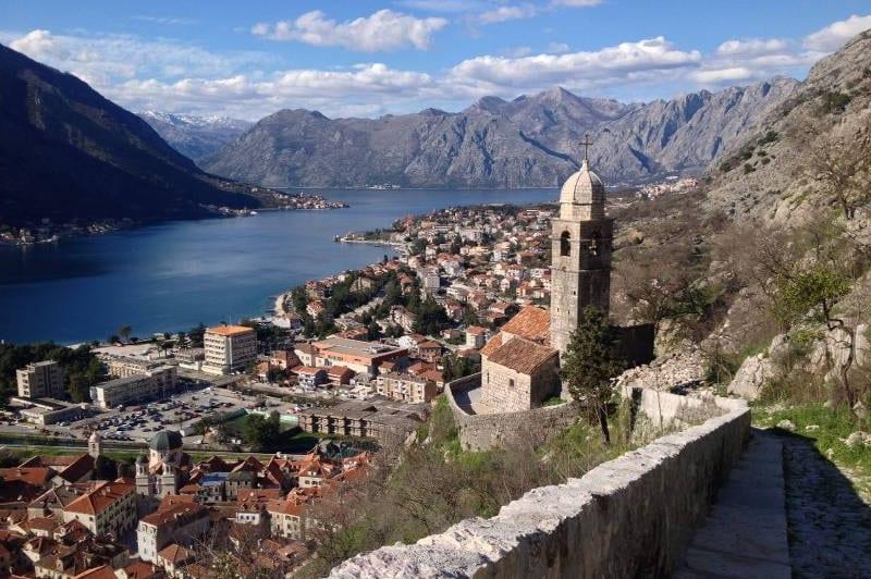 Bike touring and sightseeing in Kotor, Montenegro