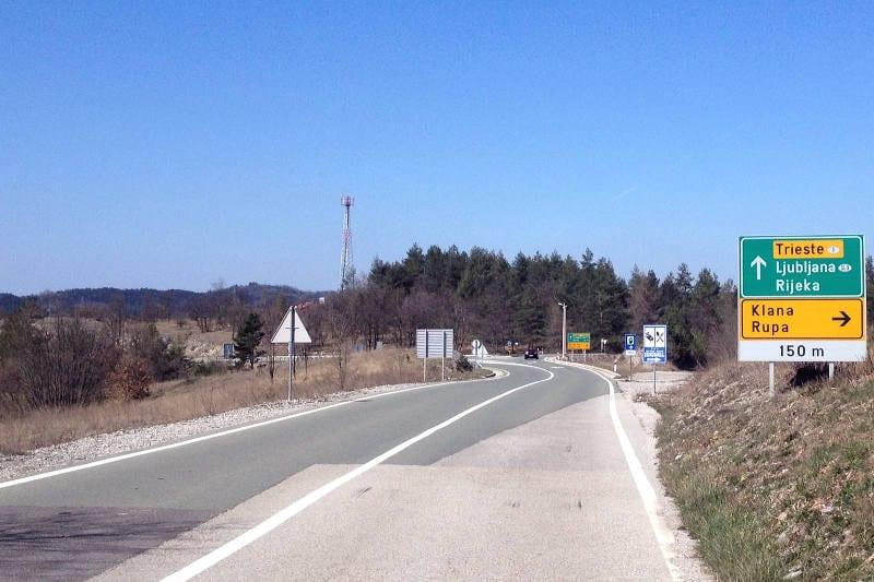 Cycling through Croatia