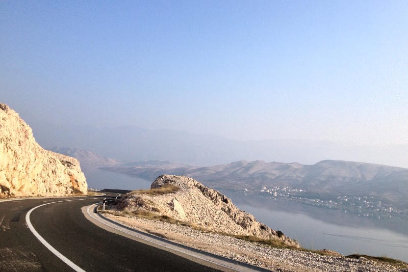 Cycling Pag Island