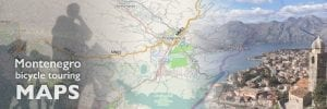 Montenegro Bike Touring Maps