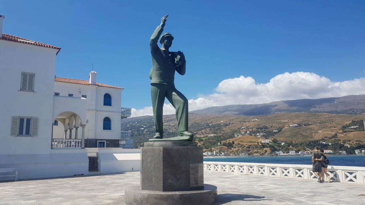 When to go to Andros and Tinos in Greece