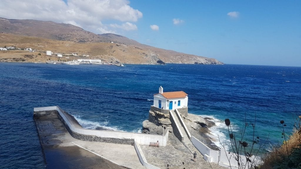 When to go to Andros and Tinos islands in Greece