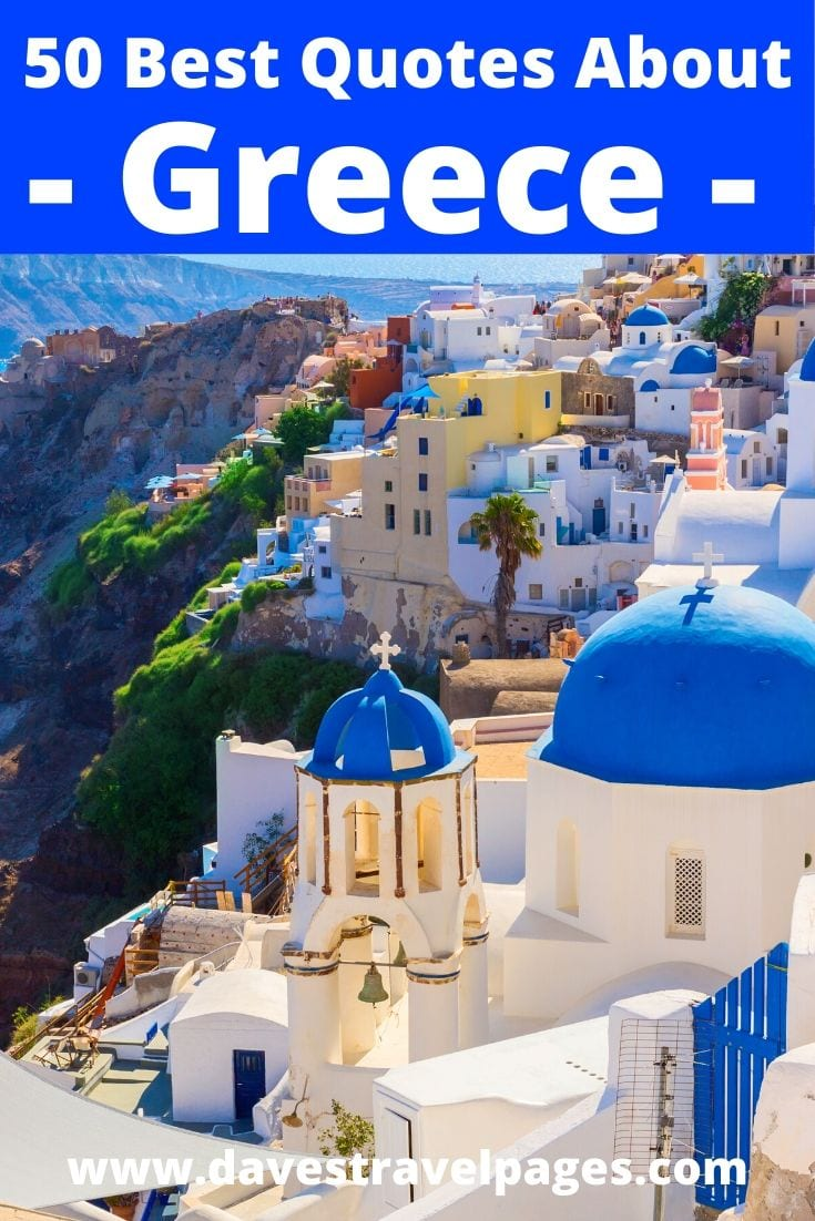 50 Best Quotes About Greece