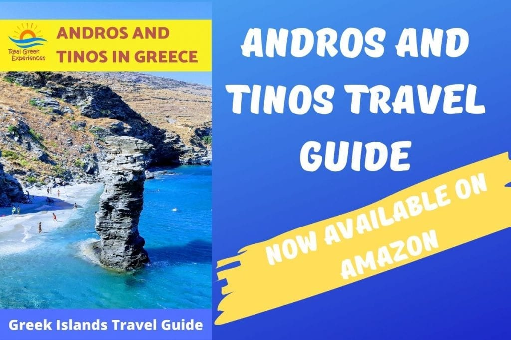Andros and Tinos Travel Guide Book Now Available On Amazon!