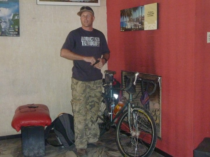 Dave Briggs leaving Argentina