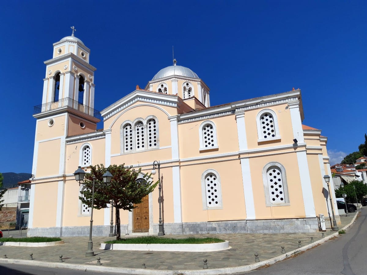 Ipapanti cathedral, Kalamata, Greece