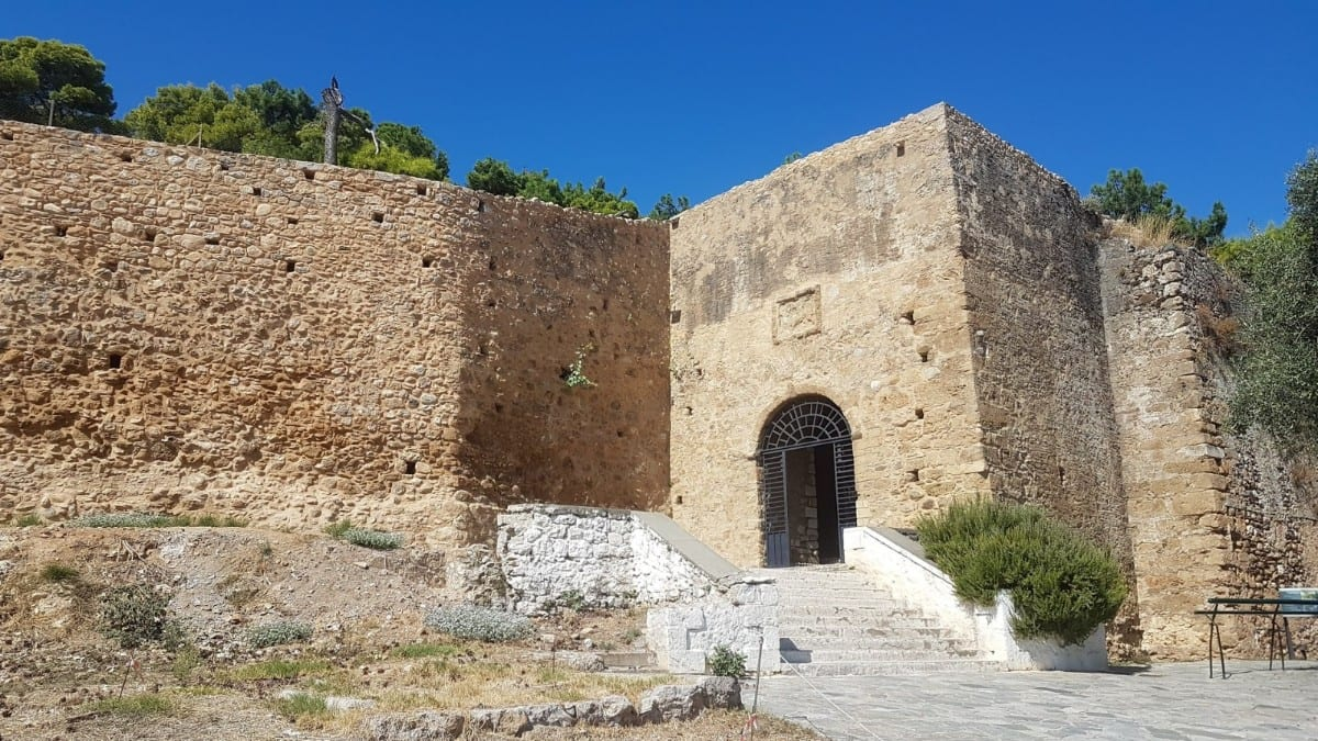 Visiting Kalamata castle