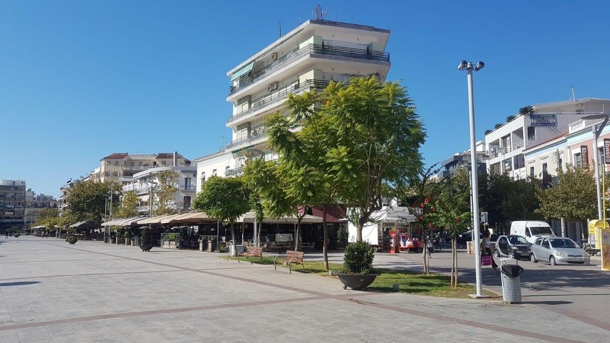 Pedestrian streets in Kalamata