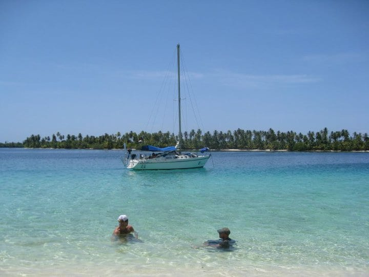 Sailing Koala in San Blas Islands