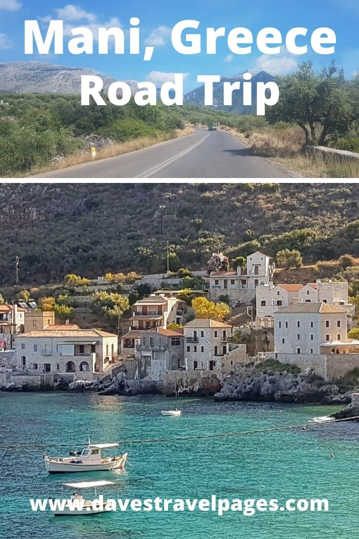 Our Mani Greece Road Trip Itinerary
